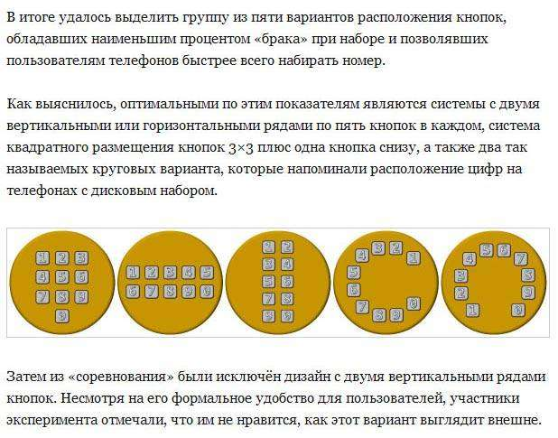 Откуда взялась привычная нам схема расположения кнопок на телефоне (6 фото)