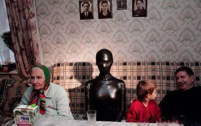 Фото, которые возможно было сделать только в России (39 фото)