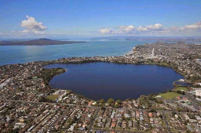Окленд – город вулканов (7 фото)