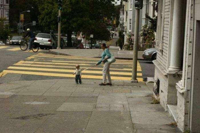 Дети на прогулке (35 фото)