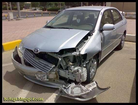 Аварии в Кувейте (45 фото)