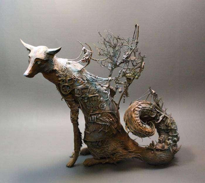 Удивительные скульптуры от Эллен Джеветт (17 фото)
