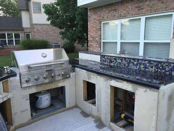 Открытая уличная кухня (36 фото)