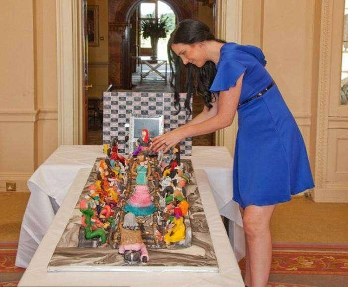 Торт за 75 миллионов долларов (7 фото)