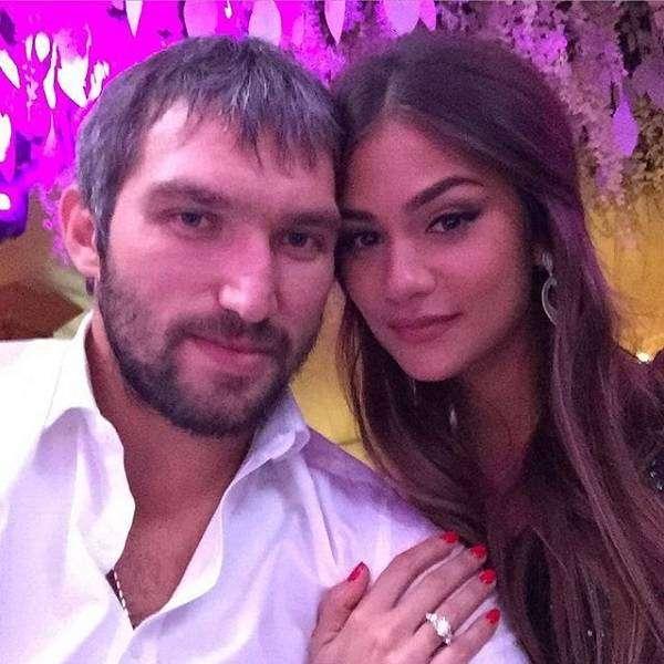 Александр Овечкин женится на дочери миллиардера Анастасии Шубской