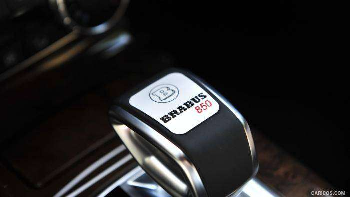 850-сильный внедорожник Mercedes Brabus G63 Widestar (14 фото)