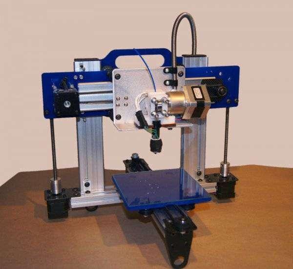 Свершилось - 3Д принтер напечатал 3Д принтер (3 фото)