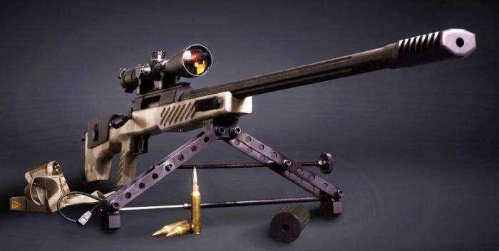 Сверхдальнобойная снайперская винтовка СВЛК-14С (5 фото)