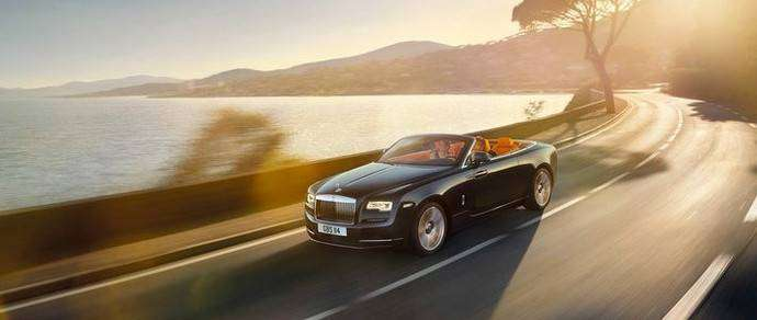 Британцы показали кабриолет Rolls-Royce Dawn