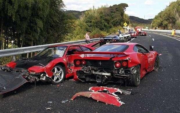 Фото 1 - 5 самых дорогостоящих автомобильных аварий в истории
