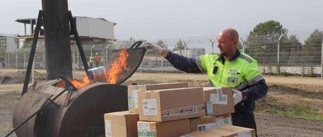 Таможенники Краснодарского края по ошибке сожгли 407 килограммов спортивного питания, посчитав продукцию санкционной