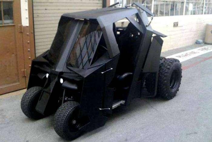 Машина для настоящего супергероя.