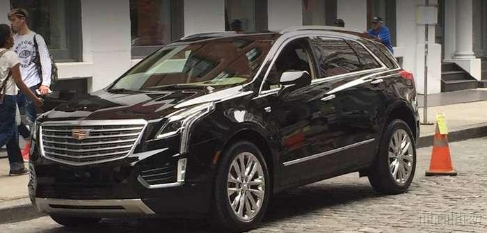 Компания Cadillac рассекретила внешность нового кроссовера