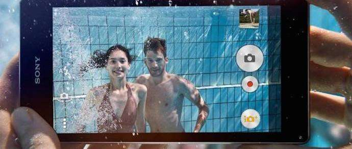 Sony запретила погружать защищенные смартфоны под воду