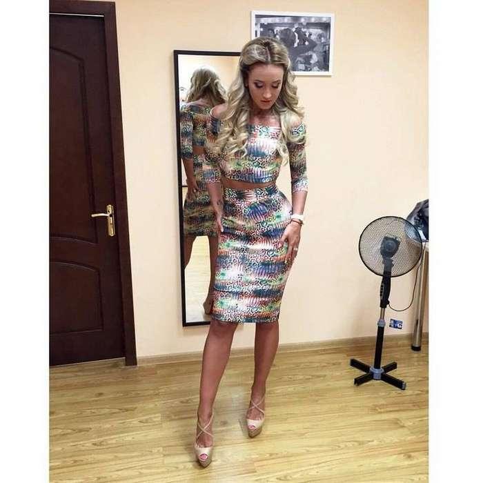 Ольга недавно стала дизайнером одежды