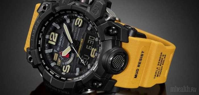 Компания Casio выпускает часы G-SHOCK