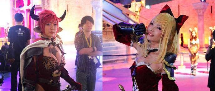 Фотофакт: японский косплей на выставке Tokyo Game Show 2015