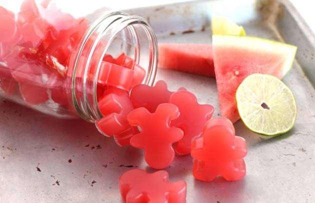 Блюда из арбуза. Желейные конфеты