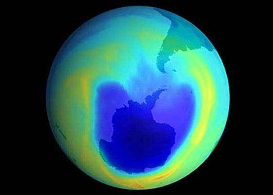 Озоновая дыра на самом деле сокращается.