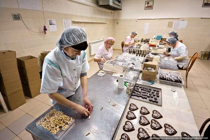 Как сделать шоколадную фабрику 37