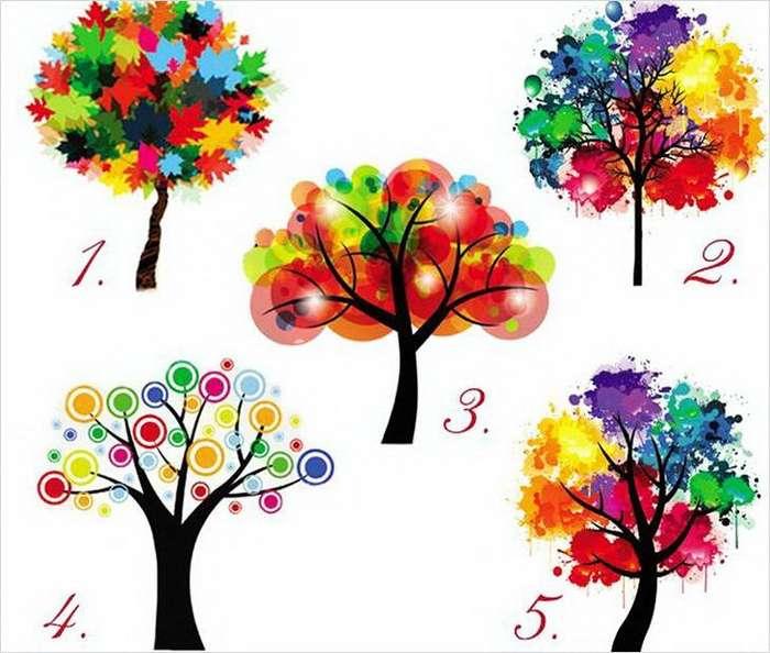 Тест: Выбрав дерево, вы узнаете кое-что интересное о себе!