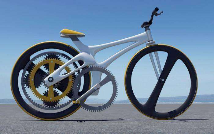 Orbital — велосипед, изобретенный заново (5 фото)