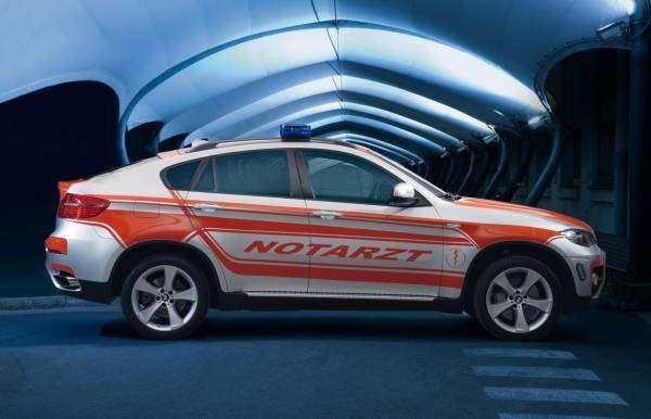 Скорая помощь BMW X6 (7 фото)