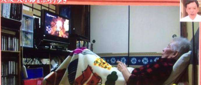 Японский телеканал снял сюжет про 79-летнего геймера на пенсии