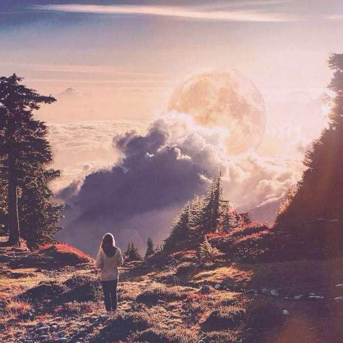 Удивительные пейзажи, отрицающие законы гравитации