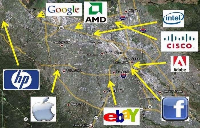 Facebook, Apple и Microsoft.