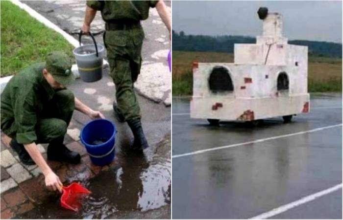 Ситуации, которые можно наблюдать только в России.