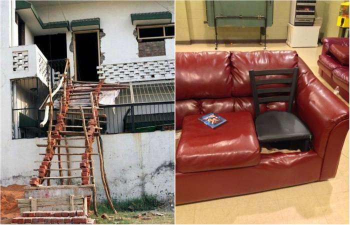 Чудеса импровизации от домашних инженеров.