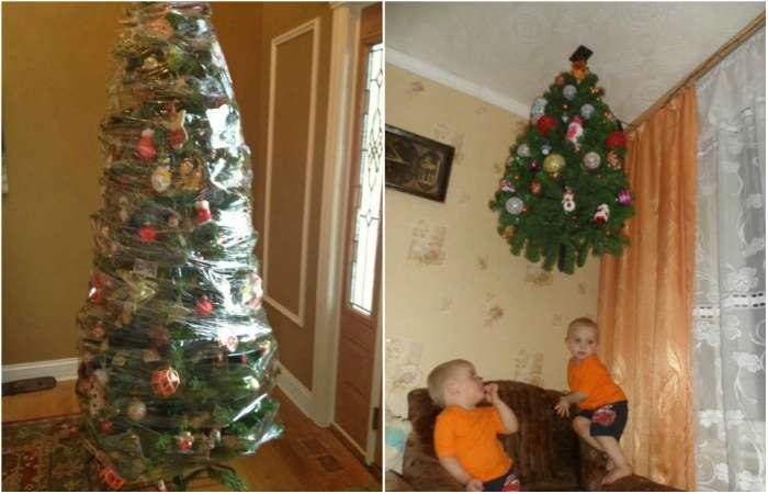 Как готовятся к Новому году семьи с маленькими детьми.