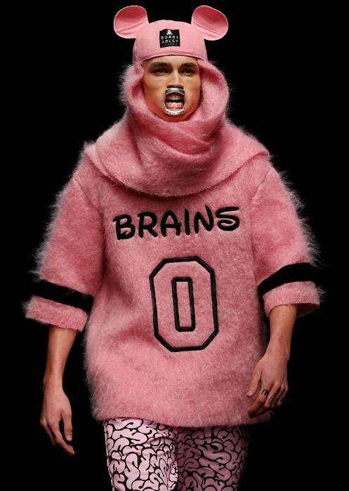Теплая толстовка «0 мозгов» для тех, кто не скрывает свои недостатки.
