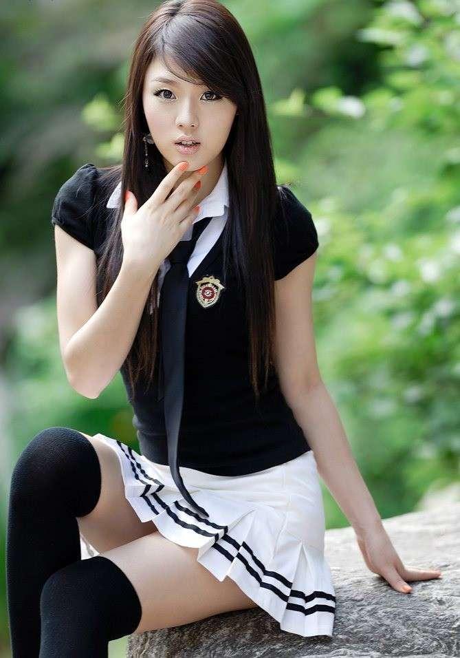помнила, девушка кореянка фото все парни