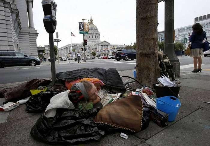 Проблема бездомности в разных городах мира (16 фото)