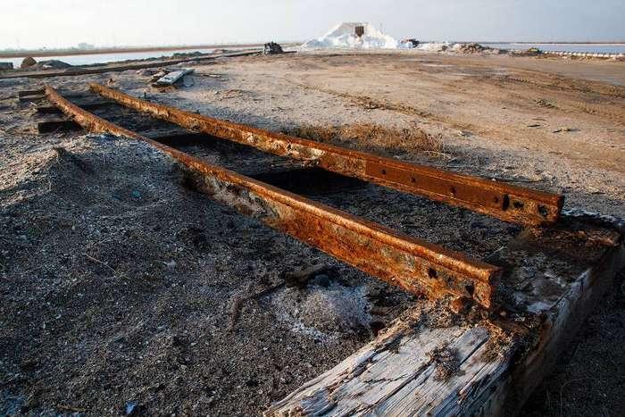 Как добывают соль в Крыму