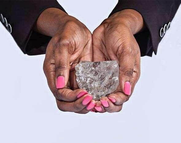 В Ботсване найден самый крупный алмаз за последние 110 лет
