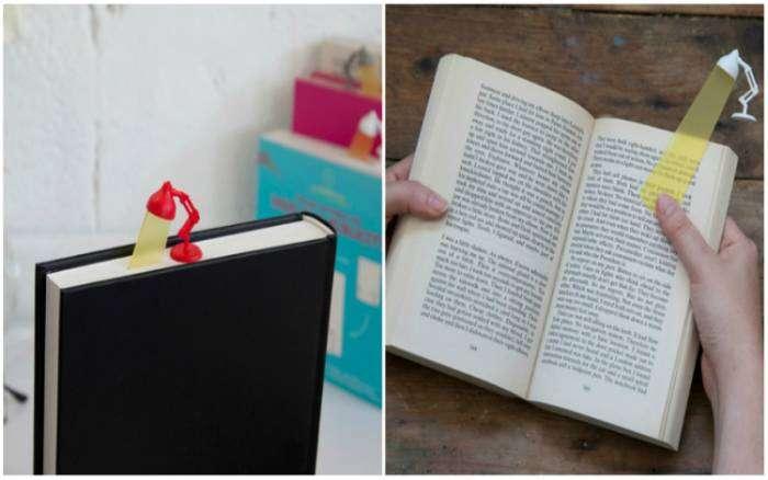 Стильная и яркая закладка для книг.