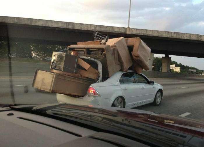 Самая безопасная доставка мебели.
