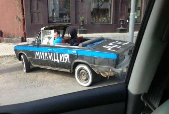 Новый милицейский суперкар.