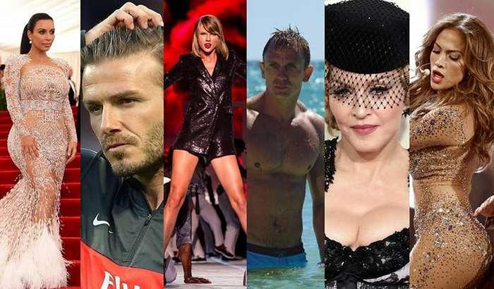 Звездная страховка: сколько стоят части тела знаменитостей
