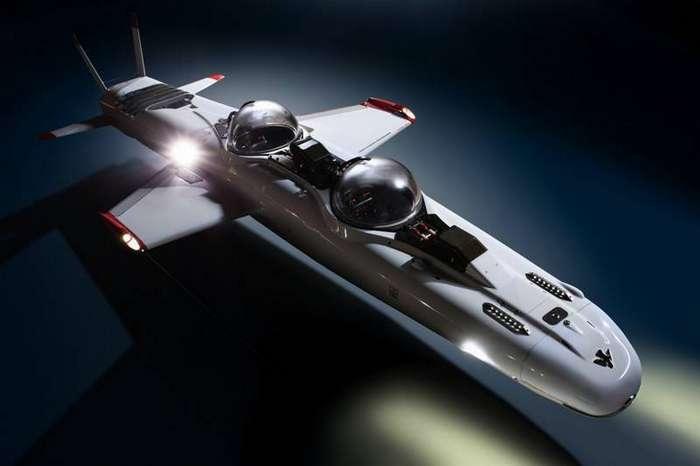 Подводный самолёт Deep Flight Super Falcon