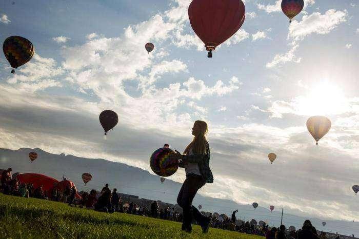 Фестиваль воздушных шаров (22 фото)