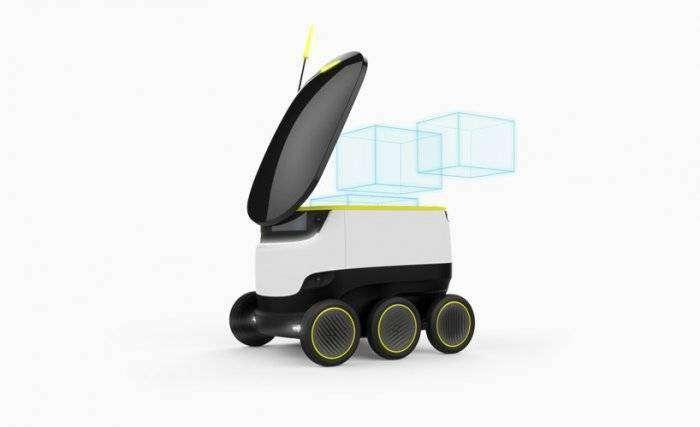 Доставка роботами по технологии Starship (9 фото)