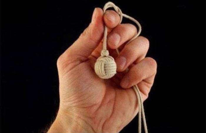 Как завязать узел «обезьяний кулак» (10 фото)