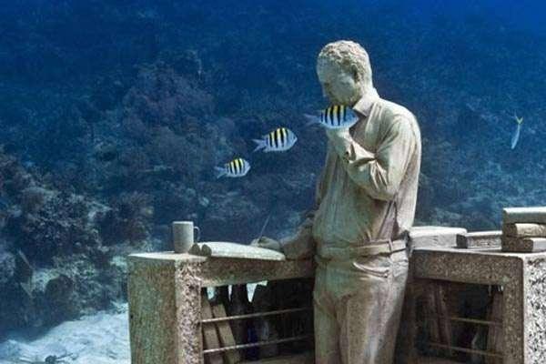 Парк подводных скульптур