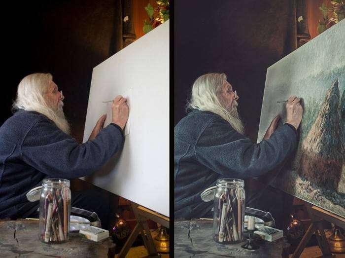 Фотографии до и после обработки в фотошопе (41 фото)