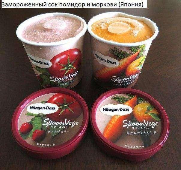 Странные продукты которые продаються в других странах(9 фото)