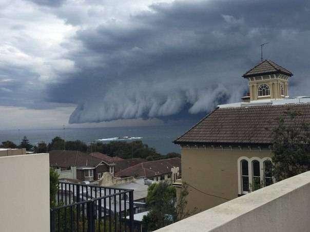 шторм в Австралии(5 фото)